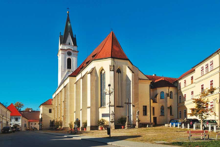 Třeboň - Map of the Czech Republic, source: Vydavatelství MCU s.r.o.
